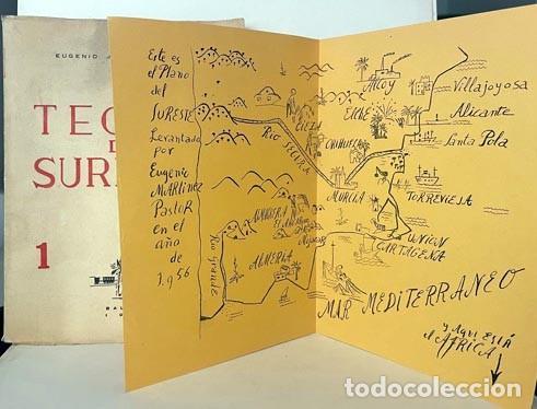 TEORÍA DEL SURESTE. (MARTÍNEZ PASTOR. BALADRE, 1956) LEVANTE, CARTAGENA, ETC. DIBUJOS. MAPA (Libros de Segunda Mano - Geografía y Viajes)