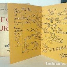 Libros de segunda mano: TEORÍA DEL SURESTE. (MARTÍNEZ PASTOR. BALADRE, 1956) LEVANTE, CARTAGENA, ETC. DIBUJOS. MAPA. Lote 255543615
