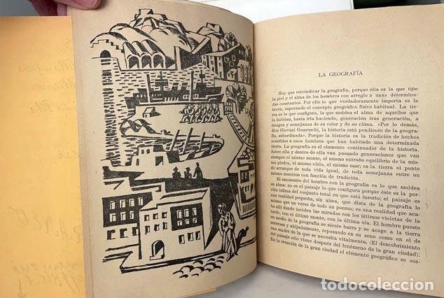 Libros de segunda mano: Teoría del Sureste. (Martínez Pastor. Baladre, 1956) Levante, Cartagena, etc. Dibujos. Mapa - Foto 3 - 255543615