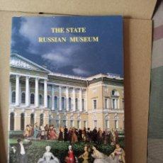 Libros de segunda mano: THE STATE RUSSIAN MUSEUM - GUIA EN INGLES --COMPRADA EN PERSONA EN SAN PETERSBURGO EN 2002. Lote 257357350