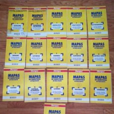 Libros de segunda mano: LOTE DE 16 MAPAS DE CARRETERAS. Lote 257442130