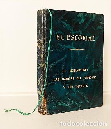 EL ESCORIAL (EDICIÓN DE LUJO. PIEL. TIRADA NUMERADA DE 350 EJEMPLARES. CORTES DORADOS (MARE NOSTRUM (Libros de Segunda Mano - Geografía y Viajes)