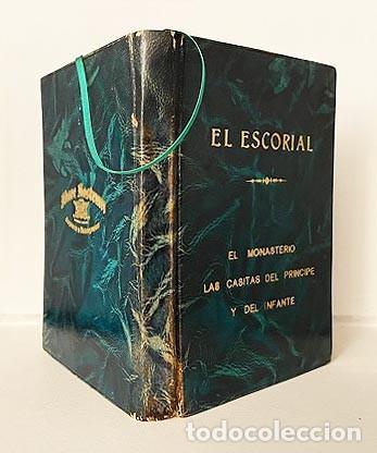 Libros de segunda mano: El Escorial (Edición de lujo. Piel. Tirada numerada de 350 ejemplares. Cortes dorados (Mare Nostrum - Foto 2 - 257459490