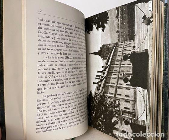 Libros de segunda mano: El Escorial (Edición de lujo. Piel. Tirada numerada de 350 ejemplares. Cortes dorados (Mare Nostrum - Foto 6 - 257459490