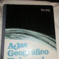Libros de segunda mano: ATLAS GEOGRÁFICO UNIVERSAL, SALINAS, AÑO 1969.. Lote 257737970