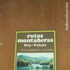 Libros de segunda mano: RUTAS MONTAÑERAS. Lote 257912850