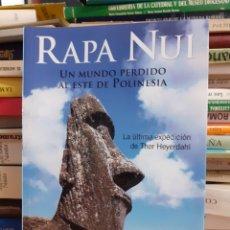 Libros de segunda mano: RAPA NUI - FRANCESC AMORÓS. Lote 261637400