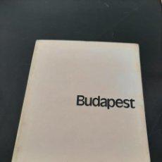 Libros de segunda mano: BUDAPEST. Lote 261644855
