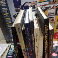 Libros de segunda mano: LOTE DE 9 ATLAS....BASICO..GEOGRAFICO..UNIVERSAL..GEO HISTORICO..GEO ECONOMICO.... Lote 262033575