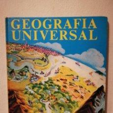 Libros de segunda mano: ENCICLOPEDIA EN COLORES TAPA DURA - ESCUELA - GEOGRAFIA UNIVERSAL. Lote 262824205