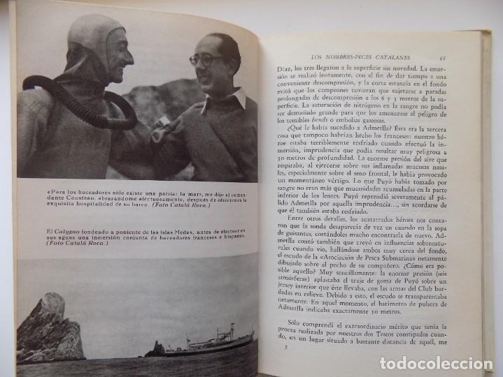 Libros de segunda mano: LIBRERIA GHOTICA. ANTONIO RIBERA. LOS HOMBRES-PECES. EDITORIAL JUVENTUD 1962. MUY ILUSTRADO. - Foto 2 - 263028770