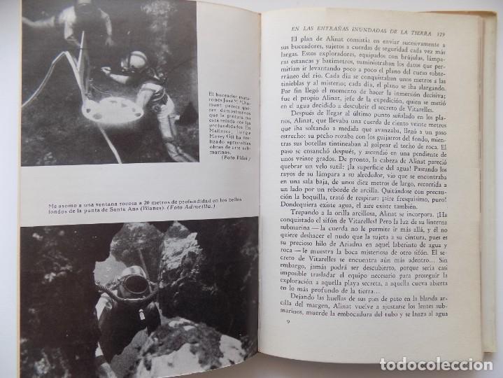 Libros de segunda mano: LIBRERIA GHOTICA. ANTONIO RIBERA. LOS HOMBRES-PECES. EDITORIAL JUVENTUD 1962. MUY ILUSTRADO. - Foto 3 - 263028770