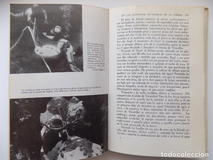 Libros de segunda mano: LIBRERIA GHOTICA. ANTONIO RIBERA. LOS HOMBRES-PECES. EDITORIAL JUVENTUD 1962. MUY ILUSTRADO. - Foto 4 - 263028770