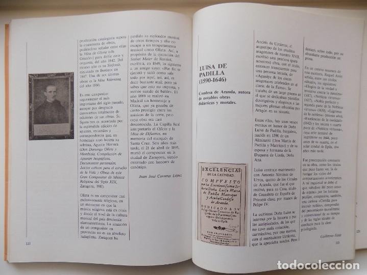 Libros de segunda mano: LIBRERIA GHOTICA. GUILLERMO FATAS. ARAGONESES ILUSTRES. 1985. FOLIO. MUY ILUSTRADO. - Foto 2 - 263029020