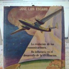 Libros de segunda mano: UN MUNDO NUEVO. LA CIVILIZACIÓN Y LA EVOLUCIÓN DE LAS COMUNICACIONES JOSÉ LUIS ESCARIO, 1946. Lote 263934020