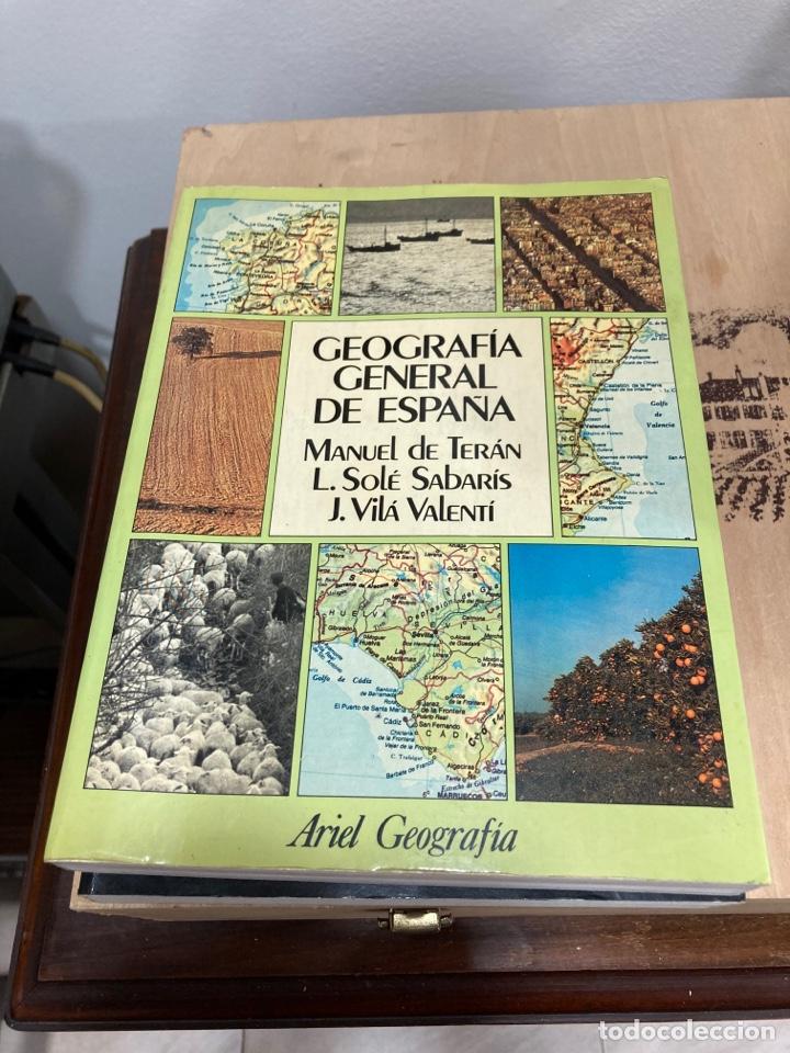 GEOGRAFÍA GENERAL DE ESPAÑA 2 TOMOS (Libros de Segunda Mano - Geografía y Viajes)
