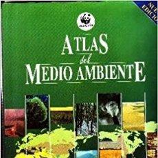 Libros de segunda mano: ATLAS DEL MEDIO AMBIENTE. Lote 266271203