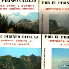 Libros de segunda mano: C. ENRÍQUEZ DE SALAMANCA : POR EL PIRINEO CATALÁN - 4 TOMOS - LA SERIE COMPLETA (1977). Lote 266557363