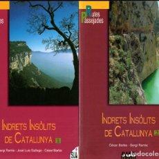 Libros de segunda mano: BARBA I RAMIS : INDRETS INSÒLITS DE CATALUNYA (SUA, 2004) - DOS VOLUMS. Lote 266559113