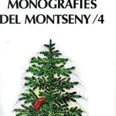Libros de segunda mano: MONOGRAFIES DEL MONTSENY Nº 4 (1989). Lote 266560673