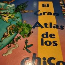 Libros de segunda mano: EL GRAN ATLAS DE LOS CHICOS. Lote 267197559