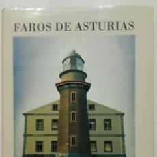 Libros de segunda mano: FAROS DE ASTURIAS - EDUARDO SANZ - SILVERIO CAÑADA - 1990. Lote 267334279