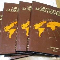 Libros de segunda mano: GRAN ATLAS SALVAT UNIVERSAL ( 4 TOMOS) W7385. Lote 267866824