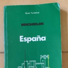 Libros de segunda mano: GUÍA MICHELIN ESPAÑA, 1987. Lote 268843559