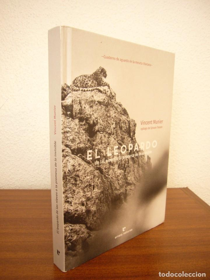 VINCENT MUNIER: EL LEOPARDO DE LAS NIEVES O LA PROMESA DE LO INVISIBLE (ERRATA NATURAE, 2020) (Libros de Segunda Mano - Geografía y Viajes)