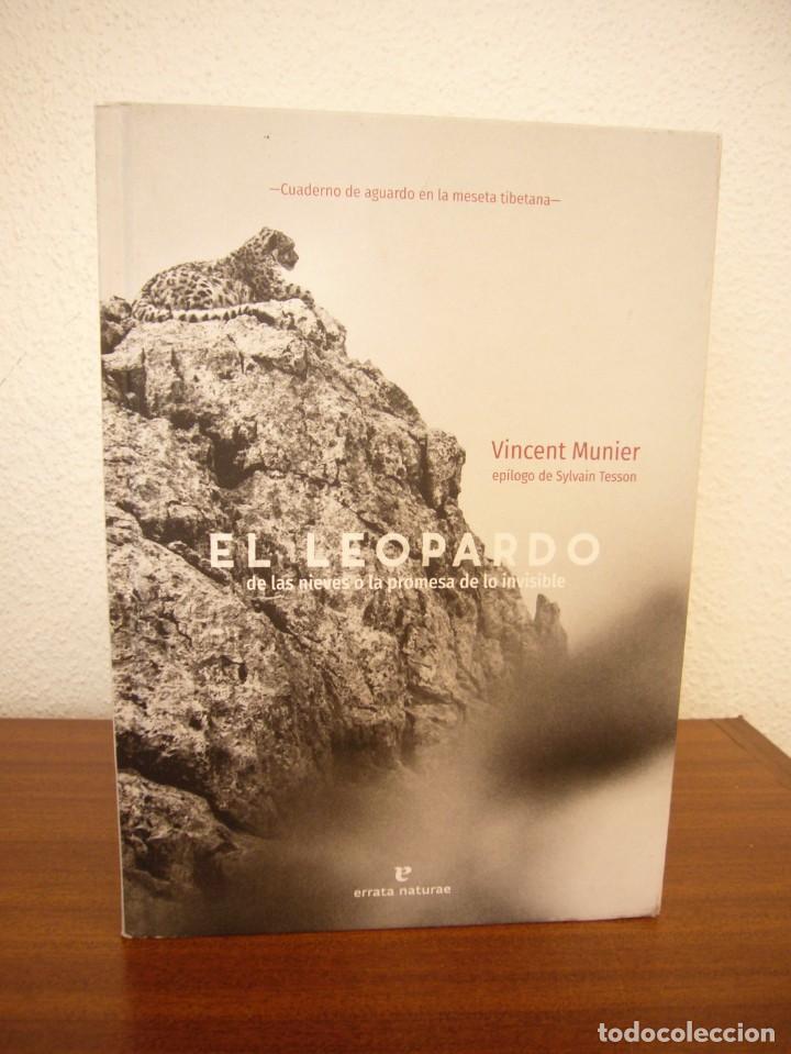 Libros de segunda mano: VINCENT MUNIER: EL LEOPARDO DE LAS NIEVES O LA PROMESA DE LO INVISIBLE (ERRATA NATURAE, 2020) - Foto 2 - 268868329