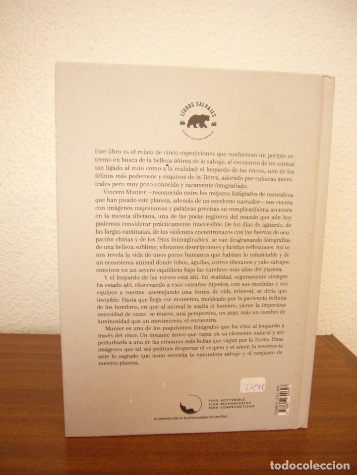 Libros de segunda mano: VINCENT MUNIER: EL LEOPARDO DE LAS NIEVES O LA PROMESA DE LO INVISIBLE (ERRATA NATURAE, 2020) - Foto 3 - 268868329