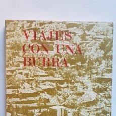 Libros de segunda mano: VIAJES CON UNA BURRA - R.L. STEVENSON - EDHASA. 1º EDICIÓN 1971. Lote 268995334
