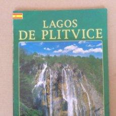 Libros de segunda mano: GUÍA LAGOS DE PLITVICE. BIBLIOTECA LEGADO HISTÓRICO CULTURAL NÚMERO 2. ED TURISTICKA NAKLADA. LIBRO. Lote 269000204