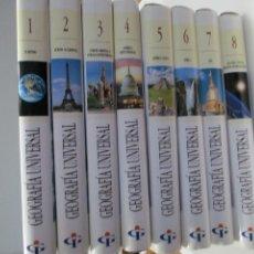 Libros de segunda mano: GEOGRAFÍA UNIVERSAL (8 TOMOS) DEL INSTITUTO GALLACH W7477. Lote 269112603