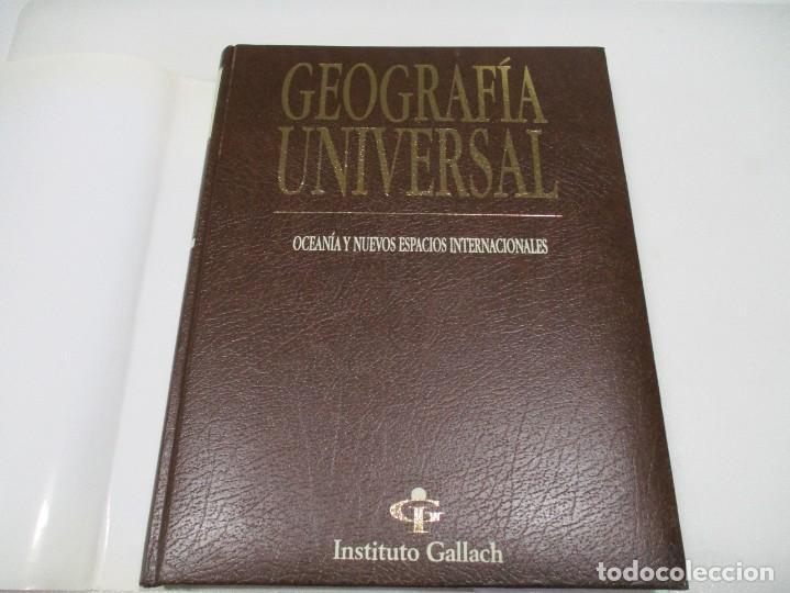 Libros de segunda mano: GEOGRAFÍA UNIVERSAL (8 tomos) del instituto Gallach W7477 - Foto 2 - 269112603