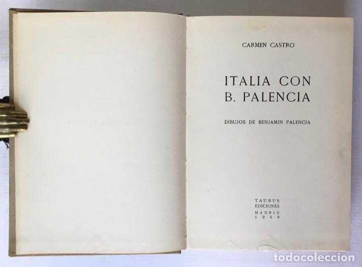 Libros de segunda mano: ITALIA CON B. PALENCIA. - CASTRO, Carmen. - Foto 3 - 123173744