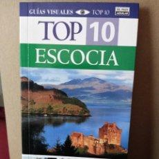 Libros de segunda mano: TOP 10 ESCOCIA - ED. EL PAIS AGUILAR. Lote 269275248