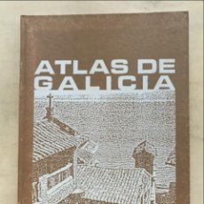 Libros de segunda mano: ATLAS A COLOR DE GALICIA, 1982 FERNÁNDEZ GURRIARÁN. Lote 269389753