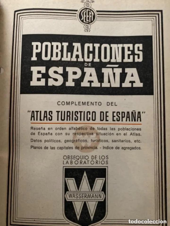 Libros de segunda mano: ANTIGUOS LIBROS POBLACIONES DE ESPAÑA WASSERMANN - Foto 2 - 269719693