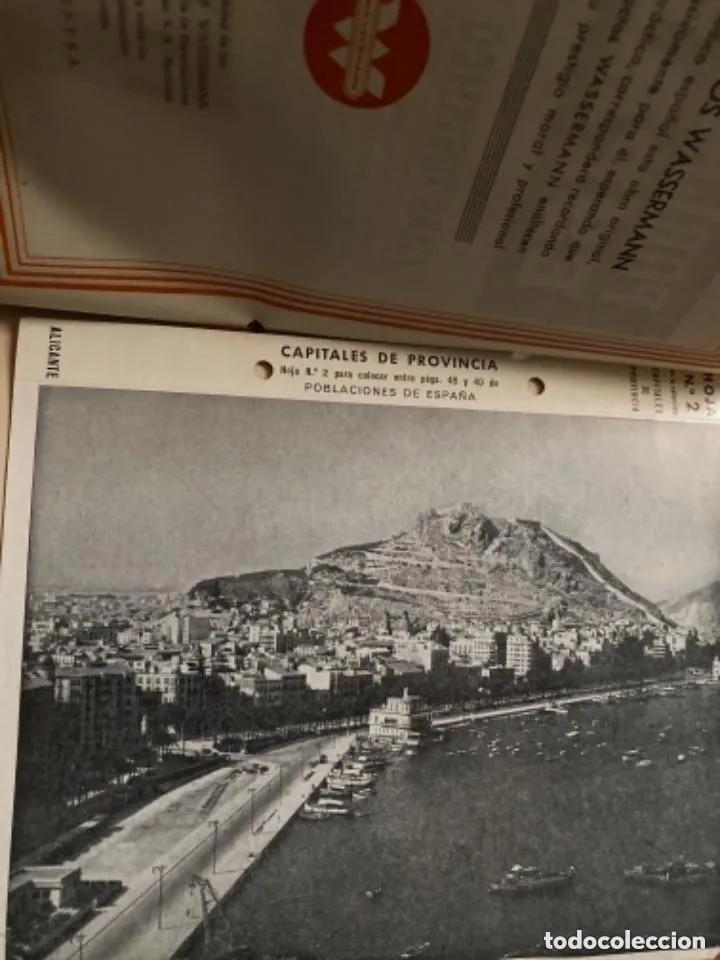 Libros de segunda mano: ANTIGUOS LIBROS POBLACIONES DE ESPAÑA WASSERMANN - Foto 3 - 269719693