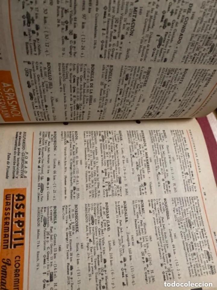 Libros de segunda mano: ANTIGUOS LIBROS POBLACIONES DE ESPAÑA WASSERMANN - Foto 5 - 269719693
