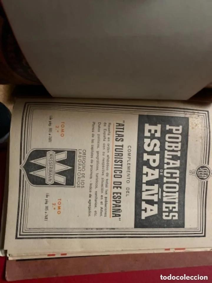 Libros de segunda mano: ANTIGUOS LIBROS POBLACIONES DE ESPAÑA WASSERMANN - Foto 7 - 269719693