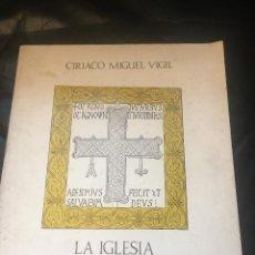Libros de segunda mano: CUADERNOS DE CULTURA POPULAR 2: LA IGLESIA DE SAN MARTÍN DE SALAS, DE CIRIACO MIGUEL VIGIL. Lote 269770563