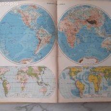 Libros de segunda mano: 1957 ATLAS MUNDIAL. ATLAS IBERO AMERICANO DE GEOGRAFIA MUNDIAL. EDITORIAL TEIDE. Lote 269778858