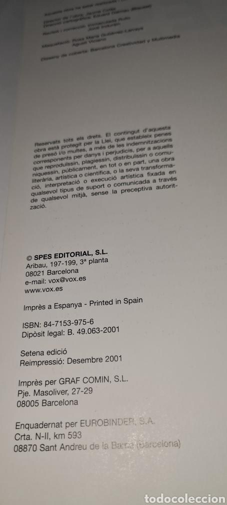Libros de segunda mano: Atles Català de Geografía Universal. Vox. - Foto 3 - 269836778
