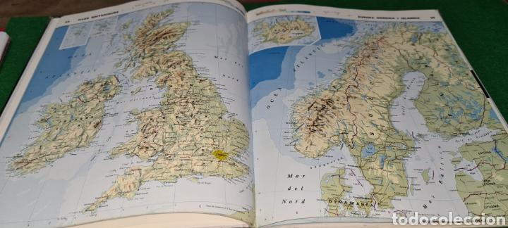 Libros de segunda mano: Atles Català de Geografía Universal. Vox. - Foto 4 - 269836778