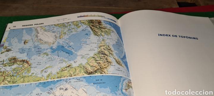 Libros de segunda mano: Atles Català de Geografía Universal. Vox. - Foto 6 - 269836778