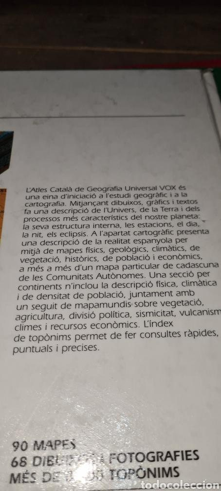 Libros de segunda mano: Atles Català de Geografía Universal. Vox. - Foto 9 - 269836778