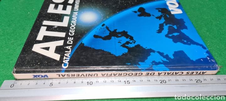 Libros de segunda mano: Atles Català de Geografía Universal. Vox. - Foto 10 - 269836778