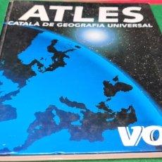 Libros de segunda mano: ATLES CATALÀ DE GEOGRAFÍA UNIVERSAL. VOX.. Lote 269836778